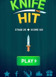 Knife Hit на ПК на android-pk.ru